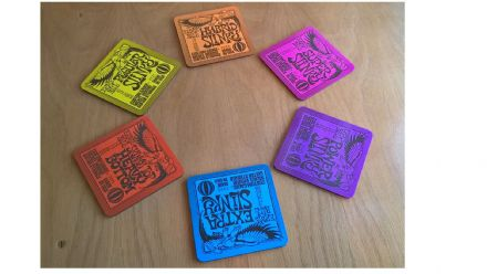 Ernie Ball Strings Drinks Coasters